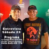 Audio de la entrevista con Alí Urdaneta en Programa La Ciudad 881 por Unión Radio 88.1 FM 23/02/19
