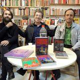 Presentación de 'Poder freak vol. 3' y 'Sobrevivir al paraíso' en Bakakai, Granada (2015-10-16)