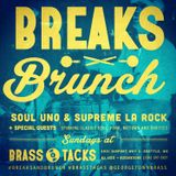 BREAKS & BRUNCH LIVE (11.19.17) Soul Uno & Supreme La Rock