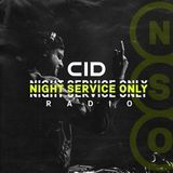 CID & Black V Neck - Night Service Only Radio 050