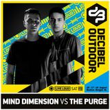 Decibel Outdoor 2019 - Raw Hardstyle Outdoor - Mind Dimension vs The Purge