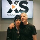 Johnny Marr with Clint Boon