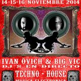 Sabadell Tattoo Convention 2014-Minimal tech session by Bigvic dj