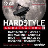 RED MACHINE - Hardstyle Ambassadors III (live)