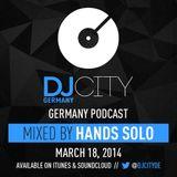 Hands Solo - DJcity DE Podcast - 18/03/14