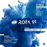 Rota 91 - 25/08/2018 - convidado - Eduardo Corelli