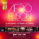 DJ DEE MONEY LIVE AT PER.SO.NA CHICAGO ULTRA LOUNGE