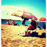 Un dimanche à la plage