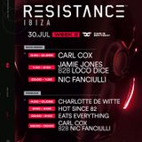 Carl Cox - Birthday performance LIVE from the Main Room at Resistance Ibiza! 30 July 2019 [1]