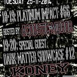 Koney @ Dark Matter Showcase on Gabber.FM 25/11/2014