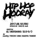 HIP HOP HOORAY(2017.08.18)@栃木