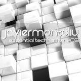 Javier Montoliu - Essential TechHouse 3 (LIVESET)