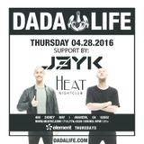 J3YK @ Heat Ultra Lounge 4.28.16