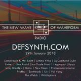 DEFSYNTH.COM's New Wave of Waveform Radio Show - 29th Jan 2018