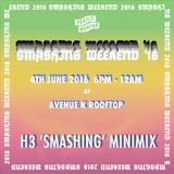 H3 Minimix for Pestle & Mortar's Smashing Weekend 2016