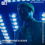 Underground & Black w/ Ash Lauryn & Stefan Ringer - 24th July 2018