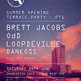 Calcule Matanza, Kingsley bk2bk @ It's Aloud Summer opening Terrace Party.