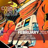 COSMIC DISCO RADIOSHOW - FEBRUARY 2017