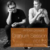 Cranium Session 011.5 - Amoss, Live from Imperial, Philadelphia