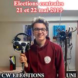 ELECTIONS CENTRALES - UNI /Interview de Antoine Loneux/ par Elyes, Marie et Nicolas