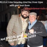 MIDAS Christmas Show with SPECIAL Guest - Gussy