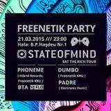 DJ Phoneme - Freenetik Party promo mix 2015