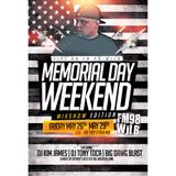 LIVE ON FM 98 WJLB/MEMORIAL DAY MIXSHOW 2017 PT.1 - DJ TONY TOCA
