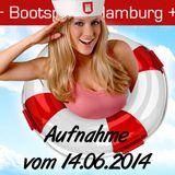 Bootsparty Hamburg - Aufnahme vom 14.06.2014