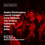 Matin @ Electronica Records TV, Moscow – 25.07.2014