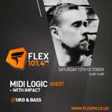 The UK Garage Show with Impact & Special Guest Midi Logic 13 OCT 2018