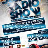 Alfonso Forte @Destroy Radio Show