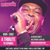DJ Richie Don ft Mc Sparks, MC Kie LIVE Tribute RIP 04.2002