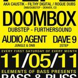 Doombox LIVE @ BASS&BLISS (11-5-2011)