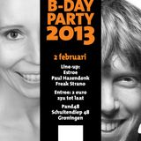 Paul Hazendonk back2back with Estroe (& Freak Strano) Pand48 Groningen 02-02-2013