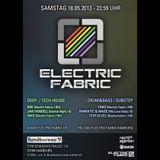 "Drum&Bass-Mix at ""Electric Fabric"" (18.05.2013 @ Fundbureau, Hamburg) // live sound feat. MC Sylar"