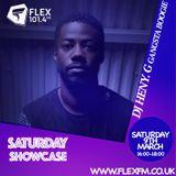 DJ Heny.G - Saturday Showcase Live On Flex FM 101.4MHz 09-03-19