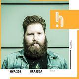 Brassica - Man is Deaf 'Influences' mixtape for Hyponik (HYP #202) (Nov 2014)
