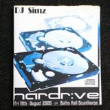 Hardrive @ The Baths Hall ( Scunthorpe ) D.j Simz - M.c's Space Rossie-b and Zebadee 19,8,05