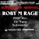 ROBY M RAGE @ SUBWOOFER HOSPITAL | CUEBASE-FM