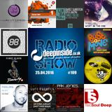 DEEPINSIDE RADIO SHOW 109 (Man Without A Clue Artist of the week)