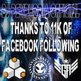 Thanks to over 11k fans on Dj Psyphoria Official