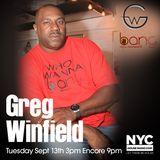 Greg Winfield NYCHOUSERADIO.COM 2016