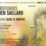 DE PROFONDIS - Damien Saillard