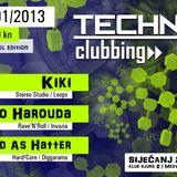 MAD AS HATTER - Live @ Techno Clubbing (Gjuro 2, Zagreb - 26.01.2013)