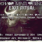 Exit Ritual - Set Two - 9/12/14 - IDM @ Broadway Joe's
