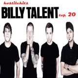 Hostile Hits - Billy Talent Top 20