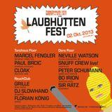 Florian König II Laubhüttenfest II Tanzhaus West & Dora Brilliant 02.10.2013