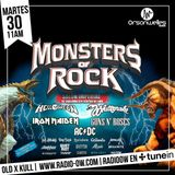 Old X Kull junto a Monsters Of Rock