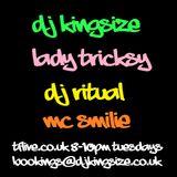 DJ KingSize - DJ Ritual - Lady Tricksy - MC Smilie #TFLIVE #UKG 22-3-16