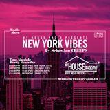 Sebastian Creeps aka Gil G - New York Vibes Radio Show on MyHouseRadio.fm NYC EP017